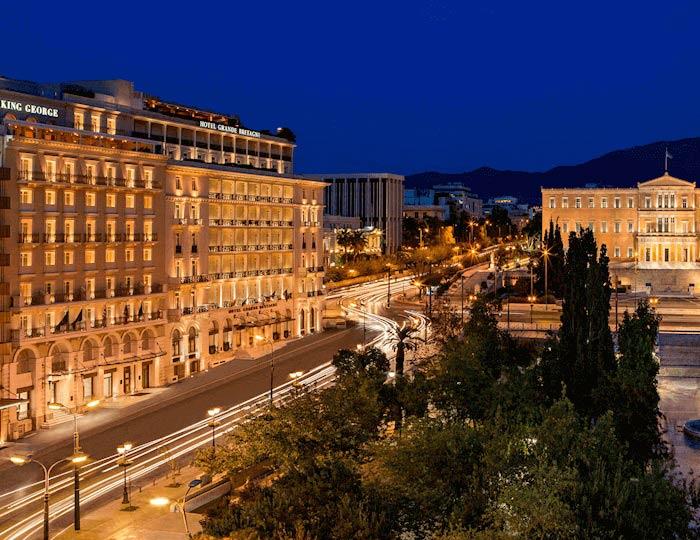 Hotel Grande Bretagne & King George Hotel - Exterior View